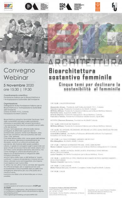 Bioarchitettura  sostantivo femminile. Cinque temi per declinare la sostenibilità  al femminile 2
