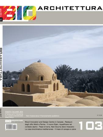 copertina bioarchitettura 103