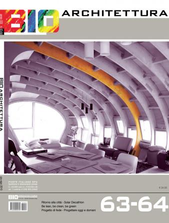 copertina bioarchitettura 63/64