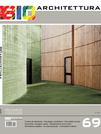 copertina bioarchitettura 69