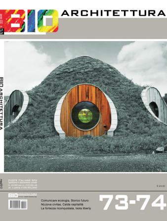 copertina bioarchitettura 73/74