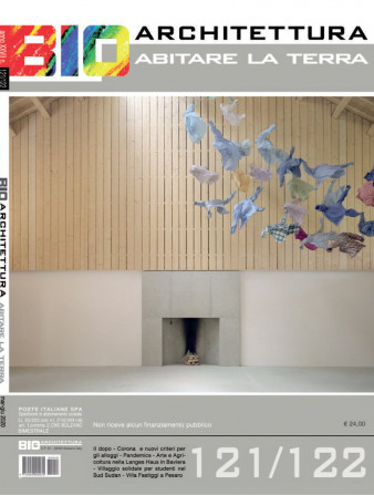 copertina bioarchitettura 121/122