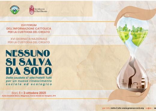 XVI edizione del Forum dell'Informazione per la Custodia del Creato